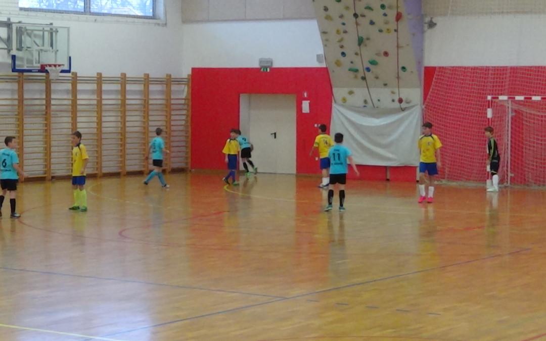 Futsal liga U11 EXTREM RIBNICA – FK DOBREPOLJE  (23.1.2016 – Velike Lašče)
